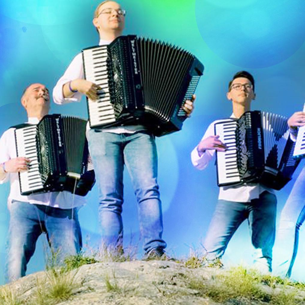 Wiener sorgen mit Akkordeon für Klick-Hits im Netz (Bild: Andreas Hofmarcher)