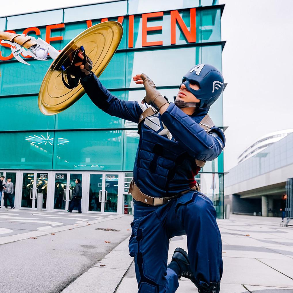 Tolle Kostüme: Wien wird zur Comic-Stadt (Bild: www.fabshoot.me office@fabshoot.me)