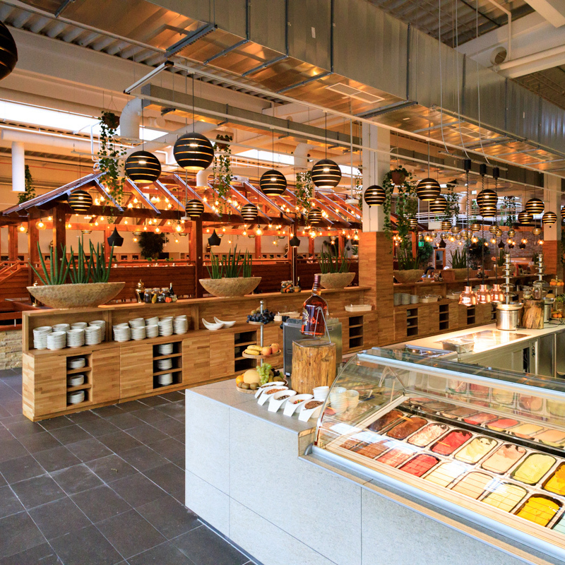 """Essen auf Zeit im neuen """"Watertuin"""" in Wien (Bild: Casper van Dort)"""