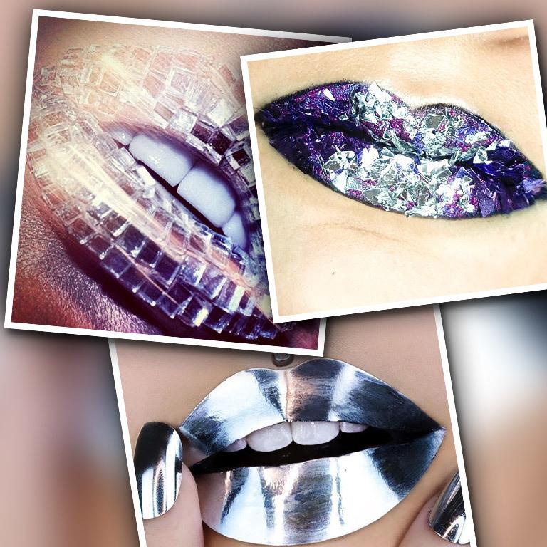 Spiegel-Lippen sind der neueste Trend im Netz (Bild: instagram.com)