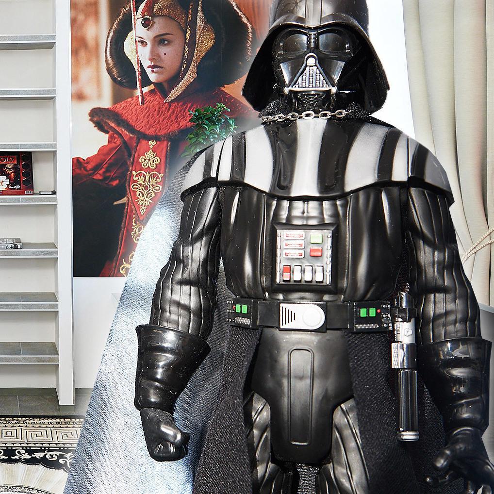 Zu Besuch in der Wiener Star-Wars-Wohnung (Bild: Gerry Rohrmoser)