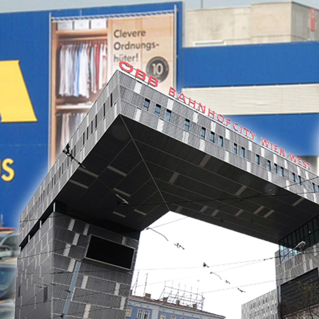 Neues IKEA-Haus soll am Westbahnhof entstehen (Bild: ikea.com)