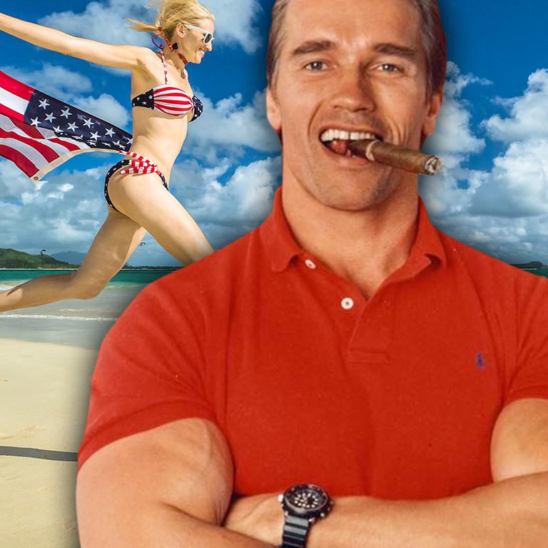 """Die fünf goldenen Lebensregeln des """"Terminator"""" (Bild: Fotomontage / stock.adobe.com / David Hume Kennerly)"""
