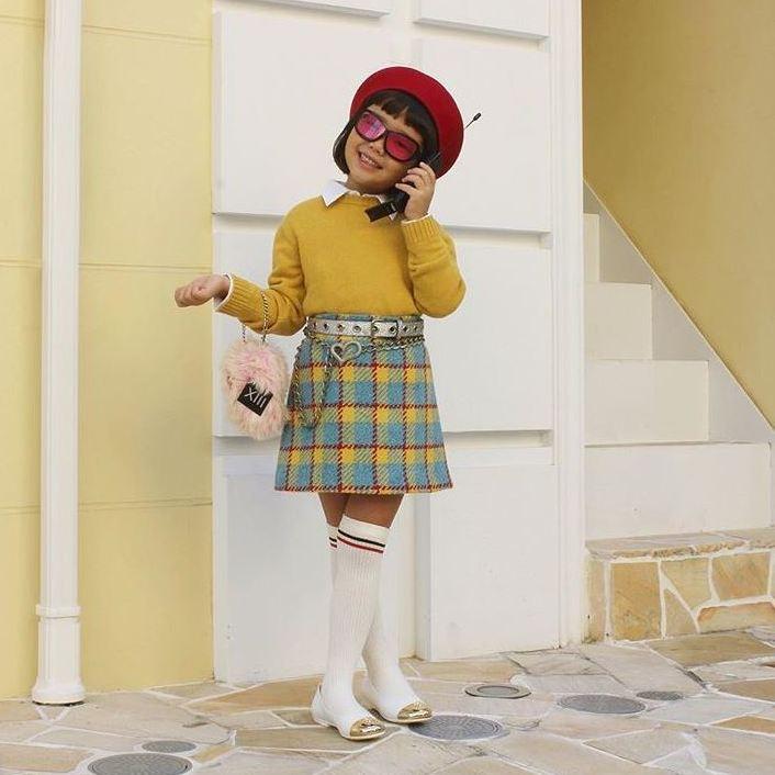 Sechsjährige wird zur Mode-Ikone auf Instagram (Bild: instagram.com/coco_pinkprincess)