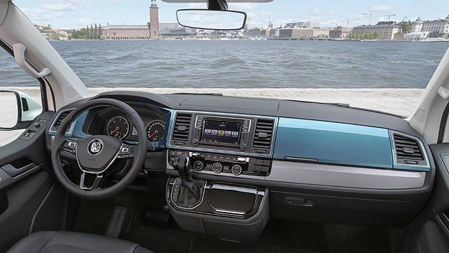 """Im Sondermodell """"Generation Six"""" gibt es Blenden in Wagenfarbe und in Alu-gebürstet-Imitat. (Bild: Volkswagen)"""