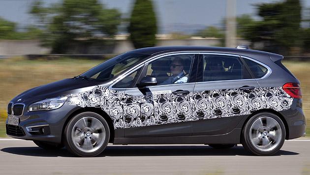 Der BMW 2er Active Tourer eDrive, also der Plug-In-Hybrid, geht 2016 in Serie. (Bild: BMW)