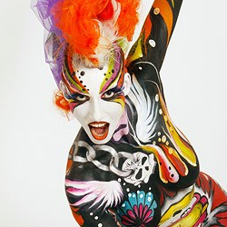 (Bild: APA/World Bodypainting Festival/Mylene Ruaux/Karen Savard)