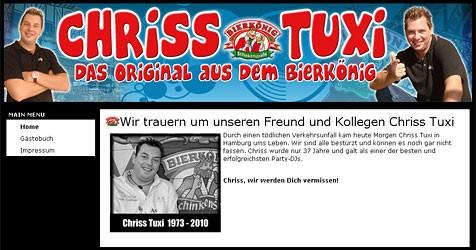 (Bild: Screenshot www.chriss-tuxi.at)