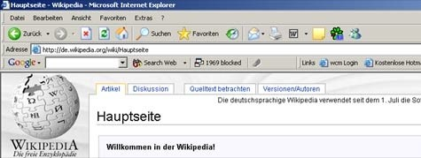 (Bild: Screenshot Wikipedia.de)