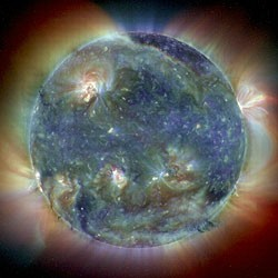 (Bild: Soho, NASA/ESA)