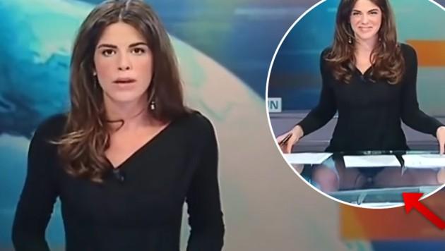 Moderatorin Gewährt Live Im Tv Tiefen Einblick Kroneat