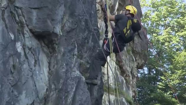 Klettersteig Oberösterreich : Erschöpfter 67 jähriger aus klettersteig gerettet krone.at