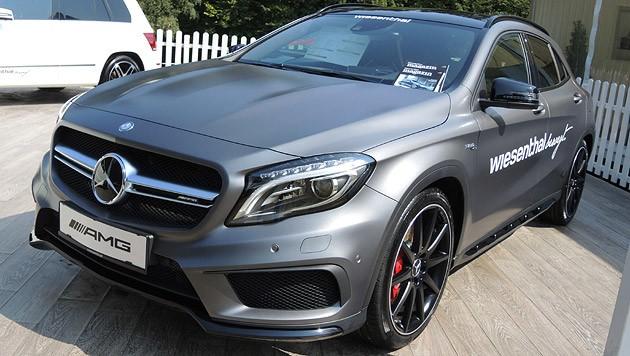 Mit ihm wir man eher nicht im Schlamm wühlen: Mercedes GLA 45 AMG mit 360 PS. (Bild: Stephan Schätzl)