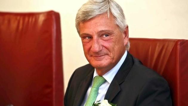 Angelobung zum Vize im April 2014: Diesmal möchte Preuner direkt gewählter Bürgermeister werden.