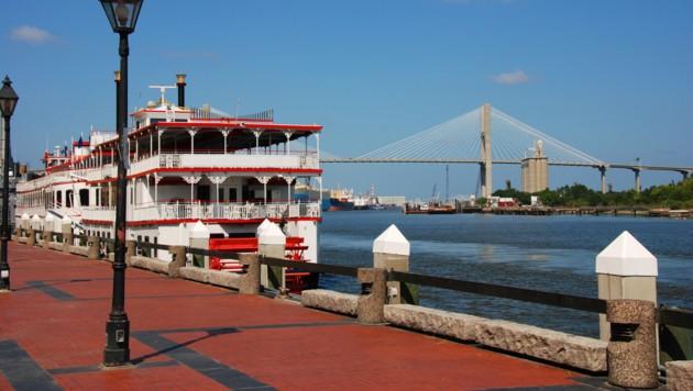 Hafen in Savannah