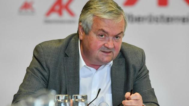 Ak-Präsident Johann Kalliauer fordert mehr Unterstützung für die Schwachen
