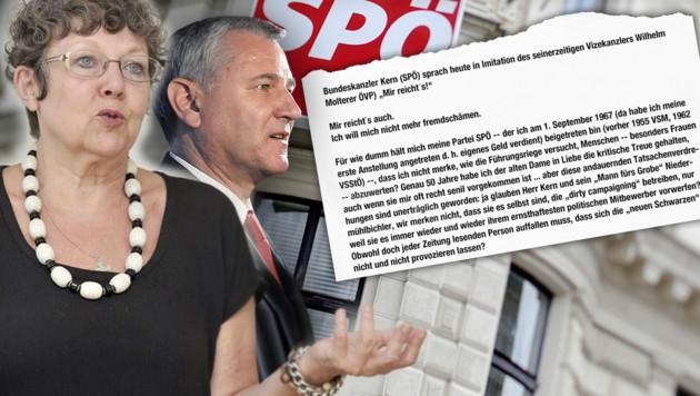 """Rotraud A. Perner """"reicht's"""" mit der SPÖ."""