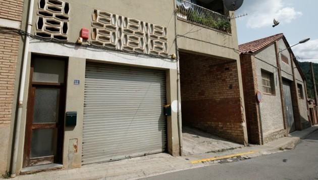 In diesem als Moschee verwendeten Gebäude soll der Imam von Ripoll die Männer manipuliert haben. (Bild: AFP)
