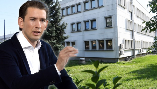 Diese Islamschule in Wien soll illegal betrieben worden sein - Minister Kurz ortet Versäumnisse! (Bild: APA/HELMUT FOHRINGER, APA/HERBERT PFARRHOFER, krone.at-Grafik)
