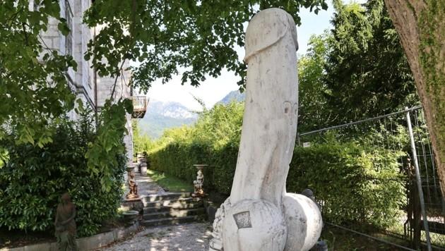 Statue mit groГџem Penis Am besten Anal-Porno-Websites