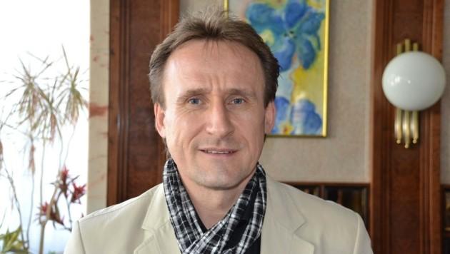 Ferenc Ullmann ist Geschäftsführer der Lebenshilfe Leoben