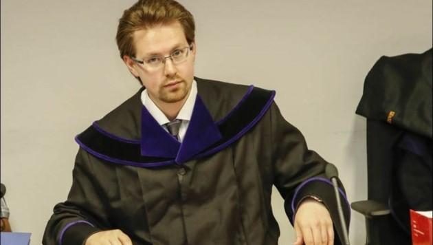 Richter Christian Hochhauser sprach den schweigsamen Senior schuldig.