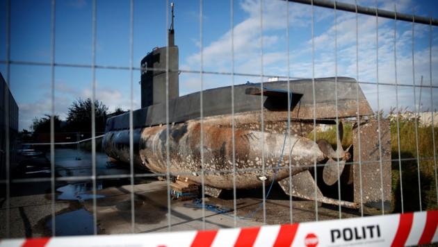Das U-Boot wurde geborgen und sichergestellt. (Bild: AP)