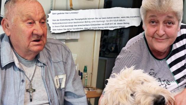 Herbert L. und Helene St. sind Mindestpensionisten.