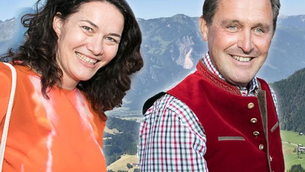Grüne-Spitzenkandidatin Ingrid Felipe, Wien-Holding-Chef Peter Hanke