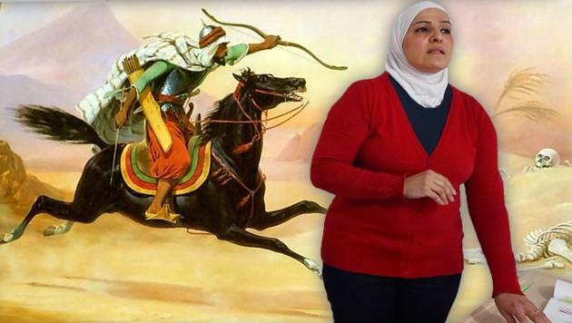 """Ab September wird in türkischen Schulklassen auch der """"Heilige Krieg"""" unterrichtet. (Bild: wikipedia.org, AFP, krone.at-Grafik (Montage))"""