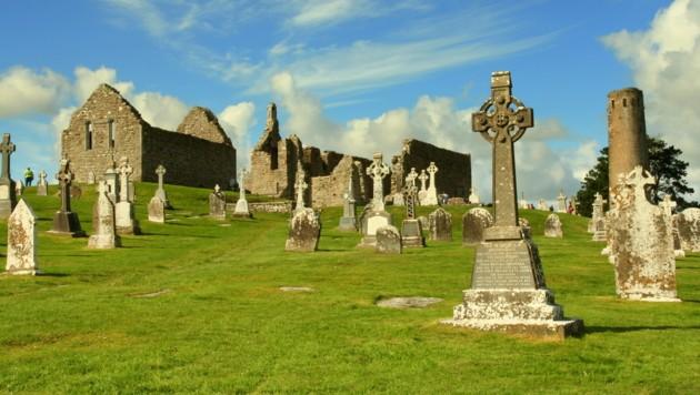 Klosterruine Clonmacnoise