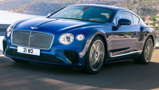 Bentley Continental GT (Bild: Bentley)
