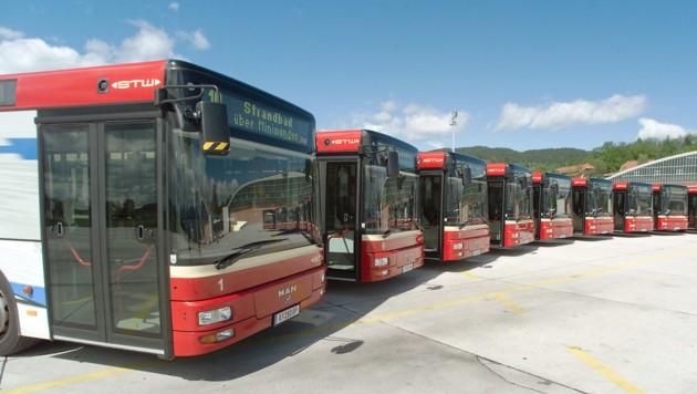 Die Stadtwerke-Busse sollen künftig noch intensiver auf den Hauptlinien unterwegs sein (Bild: fritzpress)