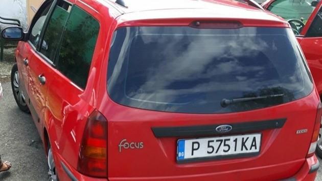Wer hat diesen Ford Focus mit dieser Nummer gesehen? Hinweise an die Polizei Wildon: 059133/6176. (Bild: ZVG)