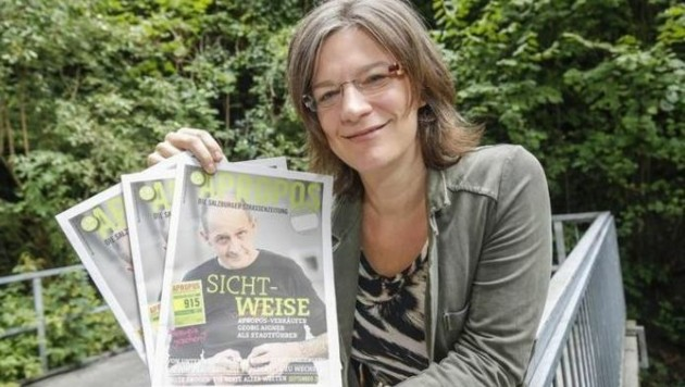Michaela Gründler hat Germanistik & Publizistik studiert. Schicksale der Armen gehen ihr ans Herz. (Bild: Markus Tschepp)