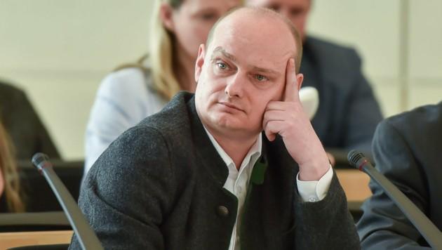 Markus Hein (FPÖ) (Bild: Harald Dostal)