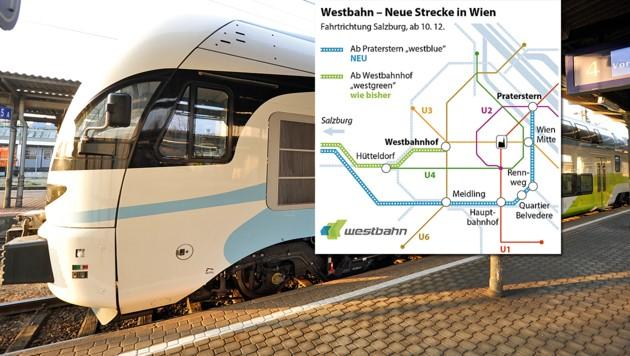 Westbahn Künftig 2 Linien Von Wien Nach Salzburg Kroneat