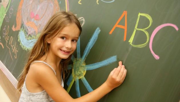 In der Grundschule haben die Kinder nun länger Zeit, können nach eigenem Tempo lernen. (Bild: Kronenzeitung)