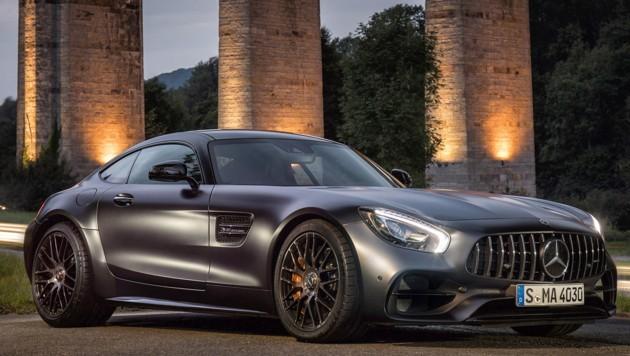 Mercedes-AMG GT-C in der Sonderausstattung Edition 50 (Bild: Daimler)