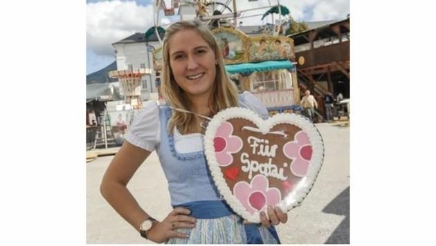 Lisa (18) aus Hof ist Stammgast am Rupertikirtag. (Bild: Markus Tschepp)