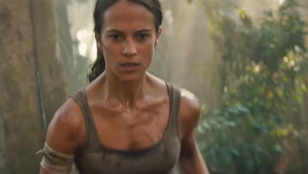 Alicia Vikander wird wiedder als Lara Croft vor der Kamera stehen. (Bild: Warner Bros.)