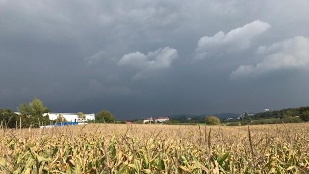 Deutschland hat gewählt - und möglicherweise ziehen auch über Österreich dunklere Wolken auf... (Bild: Kronen Zeitung)