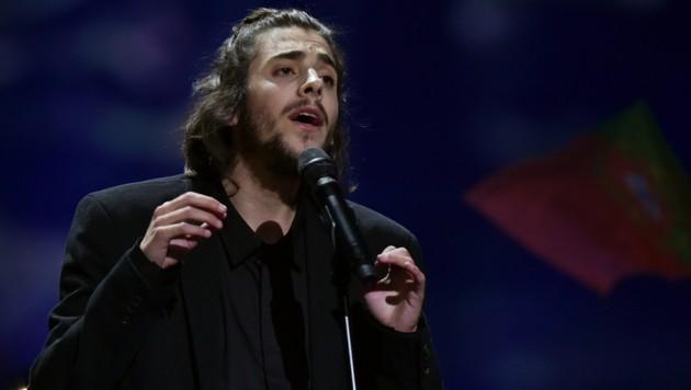 Salvador Sobral (Bild: AFP)