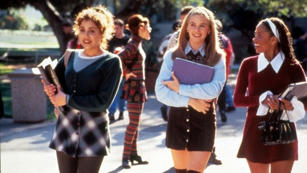 "Brittany Murphy, Alicia Silverstone und Stacey Dash in ""Clueless"" (Bild: Moviestore Collection/face to fa)"