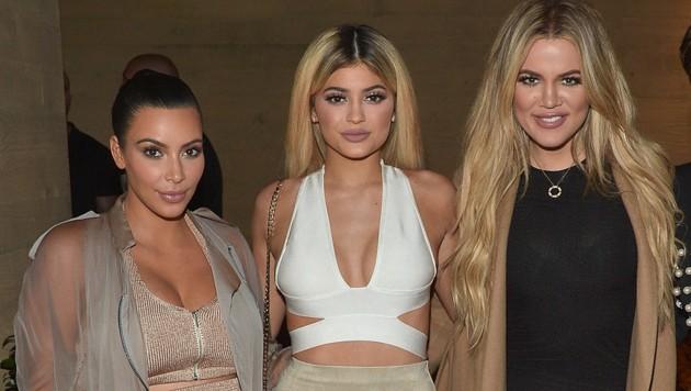 Kim Kardashian, Kylie Jenner, Khloe Kardashian (Bild: 2015 Getty Images)