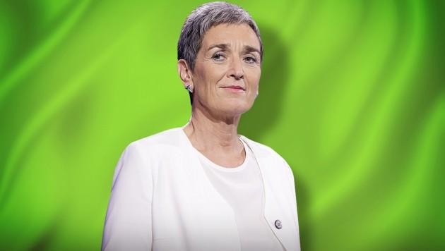 Ulrike Lunacek (Grüne) (Bild: stock.adobe.com, APA/GEORG HOCHMUTH, krone.at-Grafik)