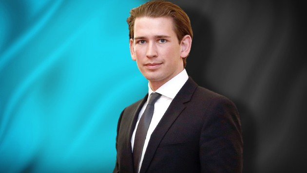 Sebastian Kurz (ÖVP) (Bild: stock.adobe.com, EPA/DRAGAN TATIC, krone.at-Grafik)