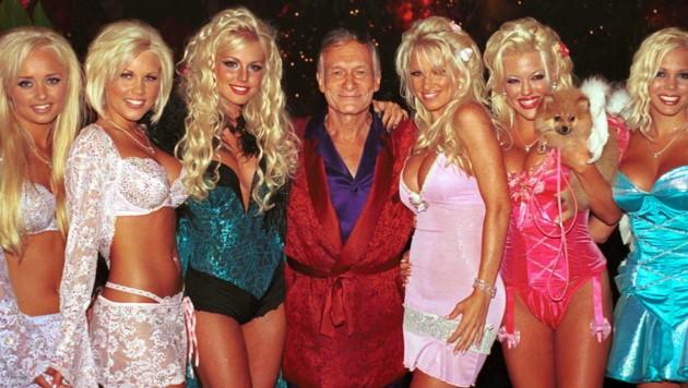 Hugh Hefner hatte sein Leben lang eine Vorliebe für schöne Frauen. (Bild: www.PPS.at)