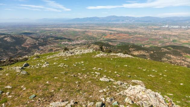 Die Gegend um die antike Stätte von Maronia in Griechenland (Bild: stock.adobe.com (Symbolbild))