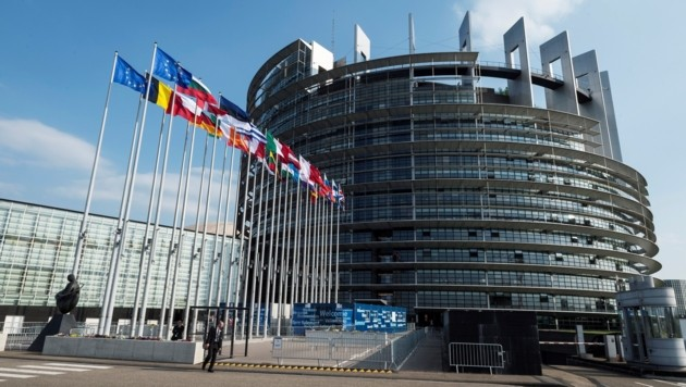 Der eine Sitz des Europäischen Parlaments in Brüssel, der andere ist in Straßburg.